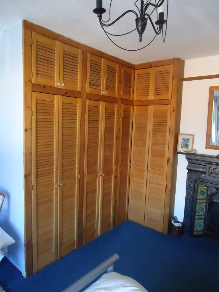 Mdf Shaker Style Bedroom Wardrobe Doors Cotterell Carpentry