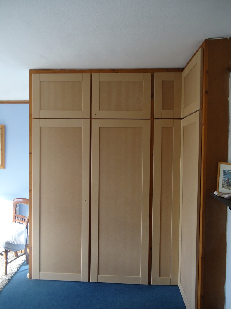 Mdf Shaker Style Bedroom Wardrobe Doors Cotterell Carpentry