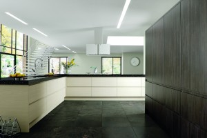 Avola Cream Avola Flint Grey Knebworth Kitchen