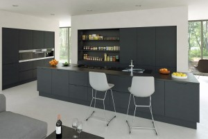 Matt Graphite Integra Kitchen