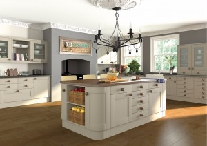 Paintable Shaker Kitchen 1
