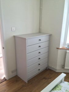 Pale sage bedroom Drawers